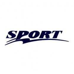 Samolepka na auto- nápis Sport