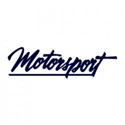 Tuning samolepka na auto s nápisem Motorsport