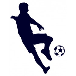 Samolepka na auto-fotbal 02