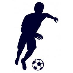 Samolepka na auto-fotbal 07