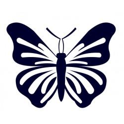 Samolepka na auto - motýl 04