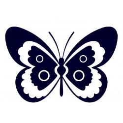 Samolepka na auto - motýl 05