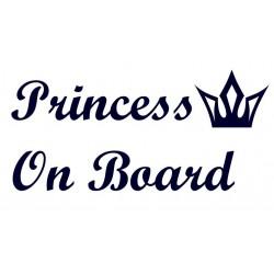 Samolepka na auto- Princess On Board