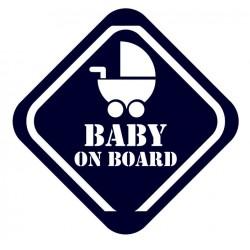 Samolepka na auto- Baby on board