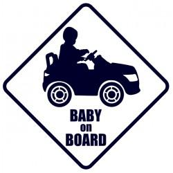 Baby on board- samolepka na auto