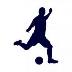 Samolepka na auto-fotbal