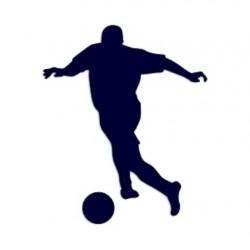 Samolepka na auto-fotbal 01