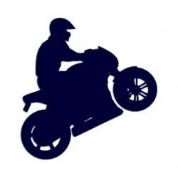Samolepka na auto-motorky