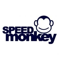 Samolepka na auto - Speed monkey