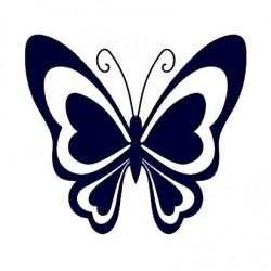 Samolepka na auto - motýl